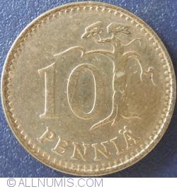 10 Pennia 1981