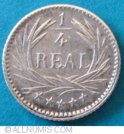1/4 Real 1896