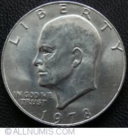 Image #2 of Eisenhower Dollar 1978