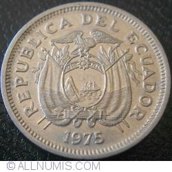 Imaginea #2 a 20 Centavos 1975