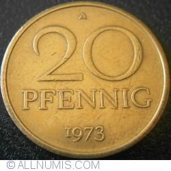 Image #1 of 20 Pfennig 1973