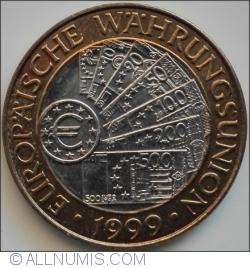 Image #2 of 50 Schilling 1999 - European Monetary Union