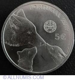 Imaginea #1 a 5 Euro 2019 - Iberian wolf