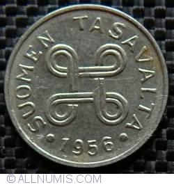 Image #2 of 1 Markka 1956