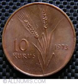 10 Kurus 1973