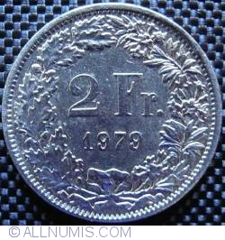 Image #1 of 2 Francs 1979