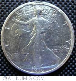 Image #2 of Half Dollar 1916 D