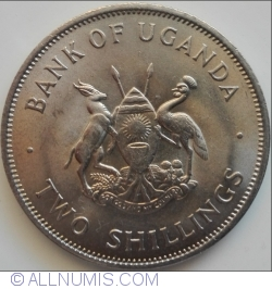 Image #2 of 2 Shillings 1966