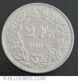 Image #1 of 2 Francs 2004