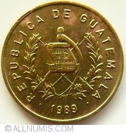 Image #2 of 1 Centavo 1989