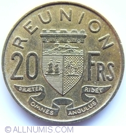 Imaginea #1 a 20 Franci 1964