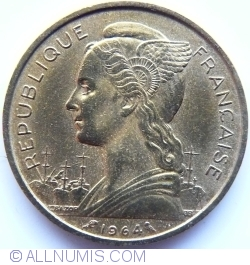 Imaginea #2 a 20 Franci 1964