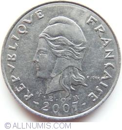 Image #2 of 50 Francs 2007
