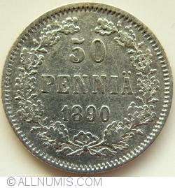 50 Pennia 1890