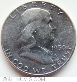 Image #2 of Half Dollar 1950