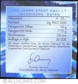 25 Euro 2003