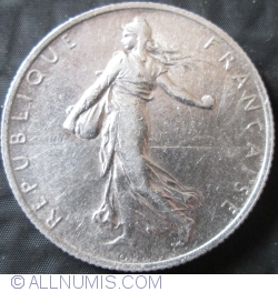 Image #2 of 2 Francs 1918