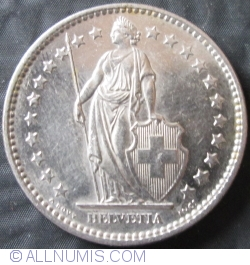 Image #2 of 2 Francs 1973