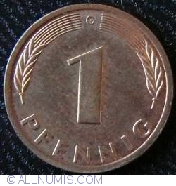 Image #1 of 1 Pfennig 1992 G