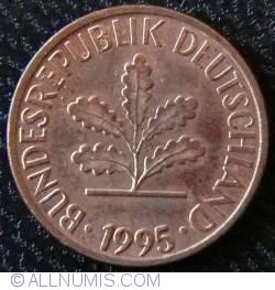 Image #2 of 1 Pfennig 1995 F