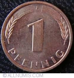 Image #1 of 1 Pfennig 1995 F