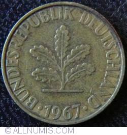 Image #2 of 10 Pfennig 1967 F
