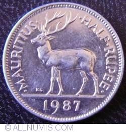 Image #1 of 1/2 Rupee 1987