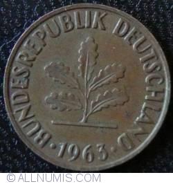 Image #2 of 2 Pfennig 1963 J