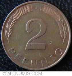Image #1 of 2 Pfennig 1993 J