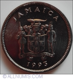 Image #2 of 5 Cents 1993