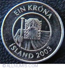 Image #2 of 1 Krona 2003