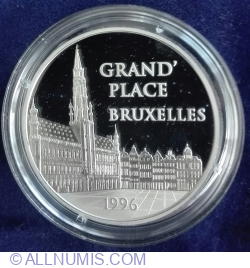 Image #2 of 100 Francs - 15 Euro 1996 ~ Bruxelles - Grand Place