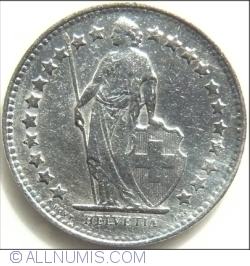 Image #2 of 1/2 Franc 1948