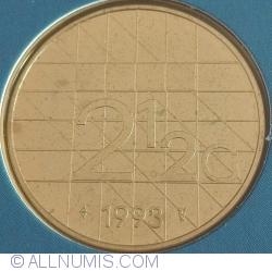 Image #1 of 2½ Gulden 1993