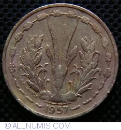 Image #2 of 25 Francs 1957