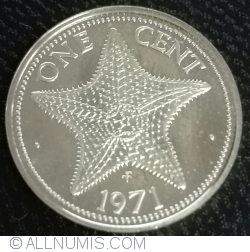 Image #1 of 1 Cent 1971 FM (P)