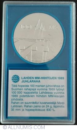 100 Markkaa 1989 - Lahti