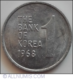 Image #1 of 1 Won 1968
