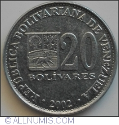 Image #1 of 20 Bolivares 2002
