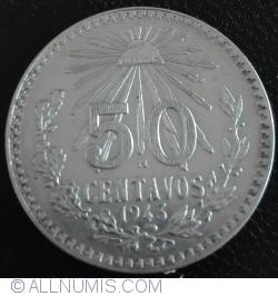 50 Centavos 1943