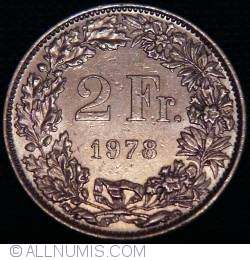 Image #1 of 2 Francs 1978