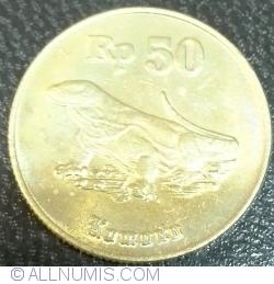 Image #1 of 50 Rupiah 1998