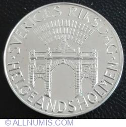 100 Kroner 1980 - SVERIGES RIKSDAG HELGEANDSHOLMEN