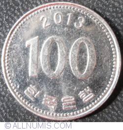 100 Won 2013