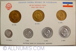 Image #2 of Mint Set 1953 - 55 (KM# 29-35)