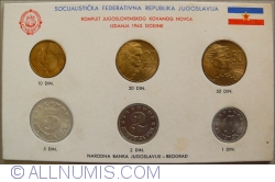 Image #1 of Mint Set 1963 (KM#36-41)