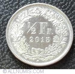 Image #1 of 1/2 Franc 2015