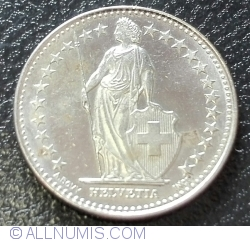 Image #2 of 1/2 Franc 2015