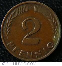 Image #1 of 2 Pfennig 1963 F