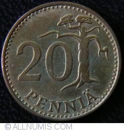 Image #1 of 20 Pennia 1979